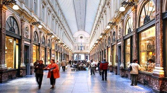 Galerías Reales de San Huberto, un espacio irrepetible de Bruselas ...