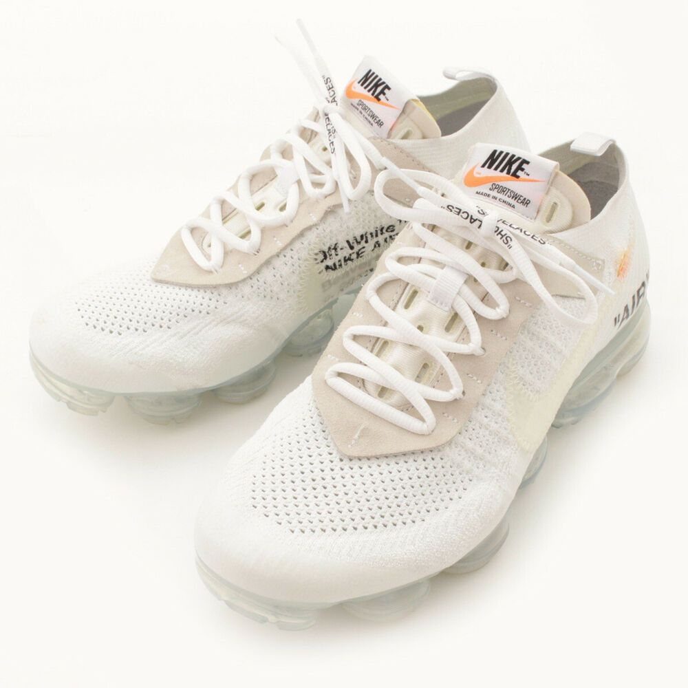 a473200a322c1 AUTHENTIC NIKE THE TEN AIR VAPOR MAX SNEAKERS AA3831 OFF-WHITE GRADE ...