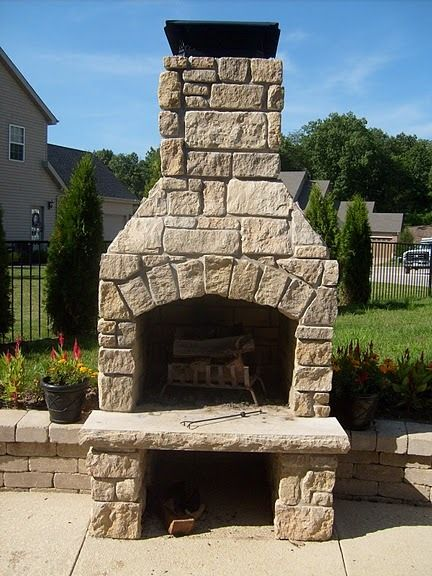Baker Pool Construction Of St Louis Builder Of Outdoor Fireplaces