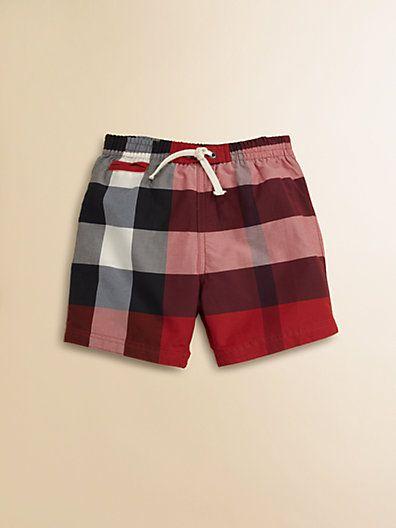 416965d6c Burberry Infants Check Swim Trunks Kids Suits, Infants, Swim Wear, Fashion  Designers,