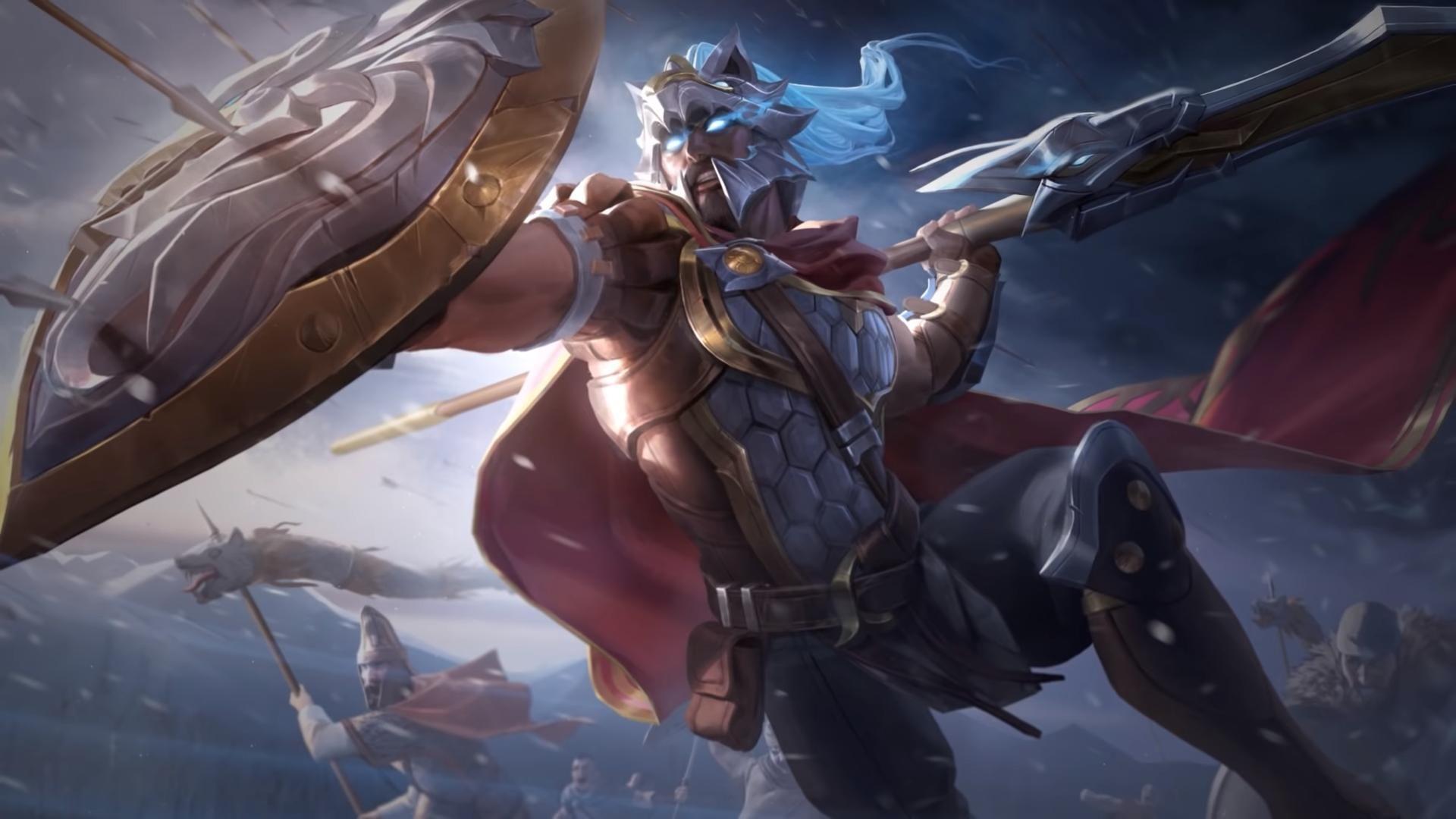 Pin De Rina Tmmts Em L E A G U E O F L E G E N D S Ilustracoes Ilustracao De Fantasia Guerreiro Espartano