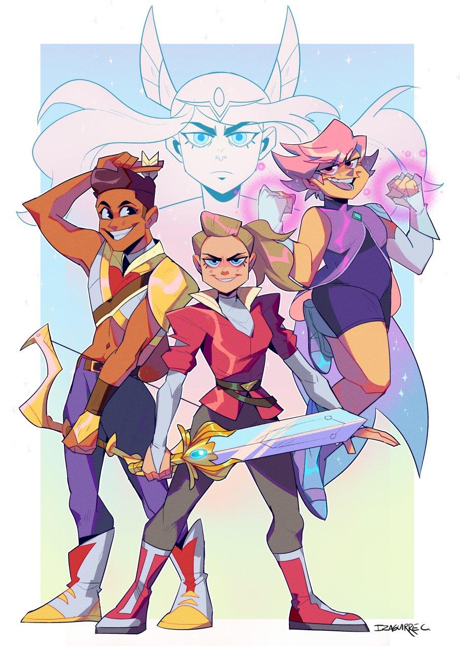 She-ra Fanart 2 by Atoma-Art   She ra princess of power