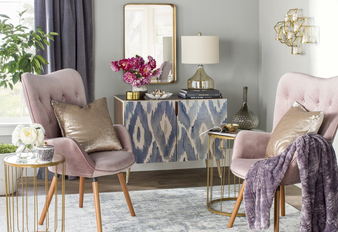 Accent Cabinet Glam Living Room Pink Living Room Room Decor Bedroom Rose Gold