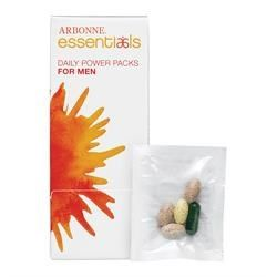 Nutrition - Arbonne Daily Power Packs for Men. Power through each day with 20 essential vitamins and minerals you need to support the body's critical processes. Botanicals, probiotics and enzymes, plus bone health and antioxidant formulas. Easy-dispensing carton. Father will LOVE ! Shop online at: http://luzmariaheredia.arbonne.com