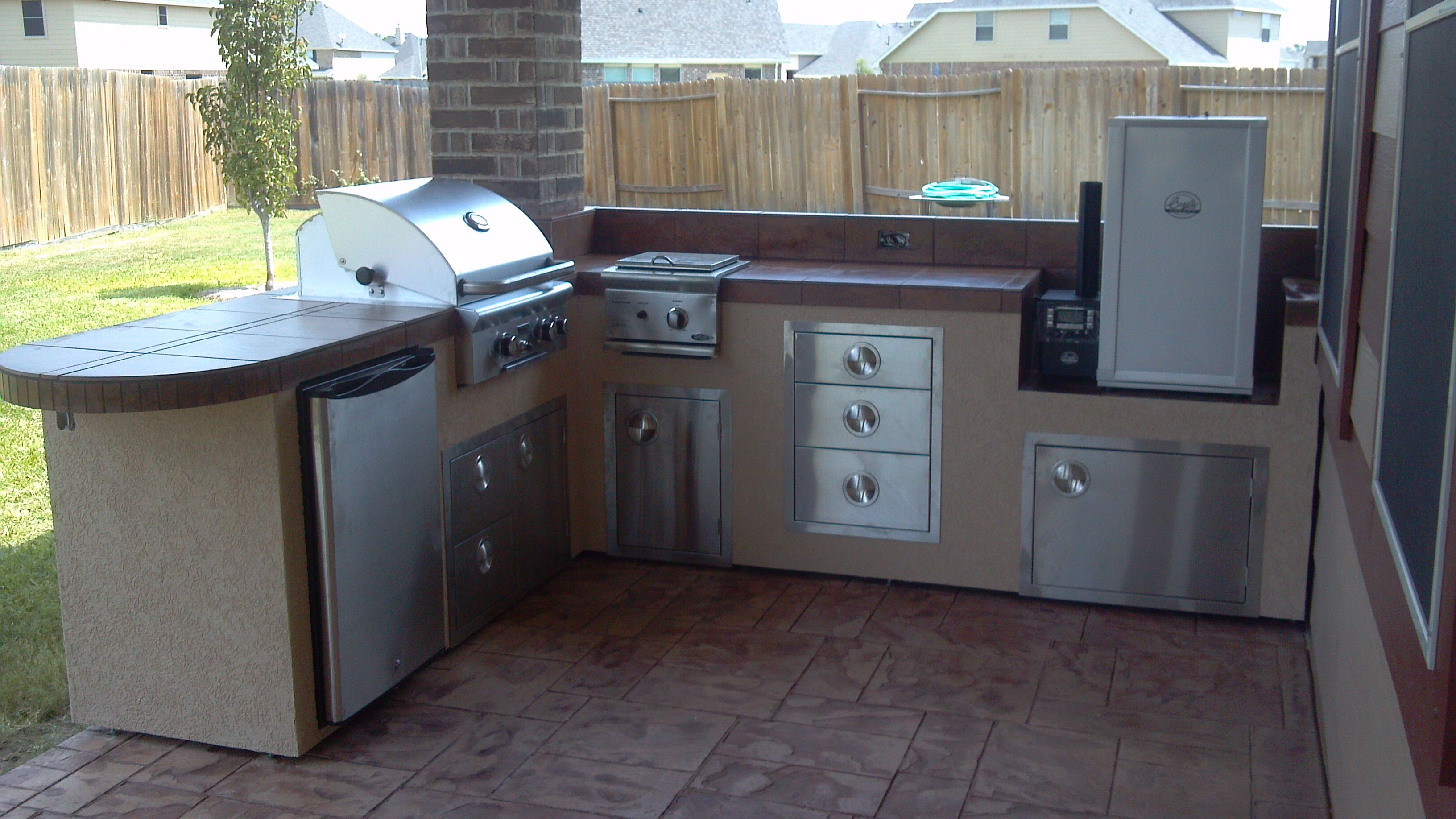 Incroyable Outdoor Kitchens With Smoker   Yahoo Image Search Results