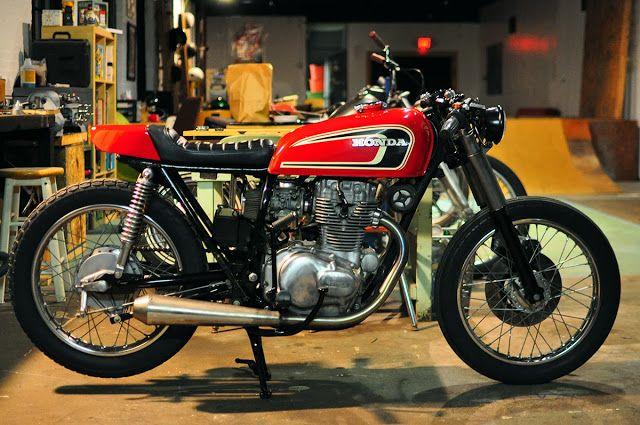 Counter Balance Motorcycles: Honda Cb 360 Cafe Racer | Gen Moto