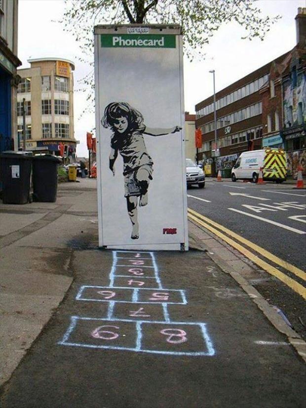 let's play hopscotch! #funStreetArt