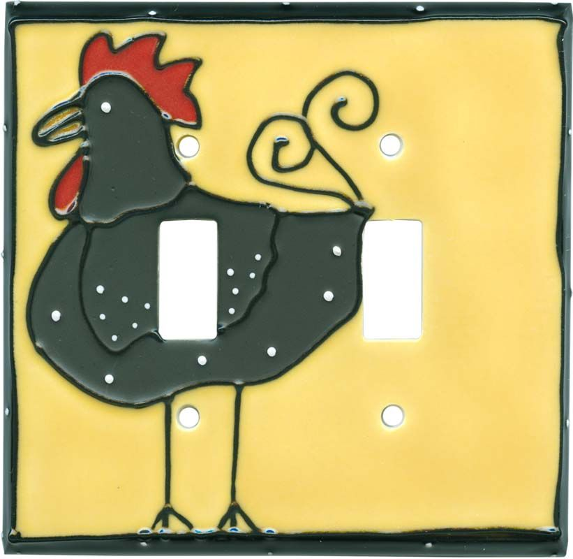 FUNKY CHICKEN Switch Plates Image, Outlet Covers, Switchplates ...