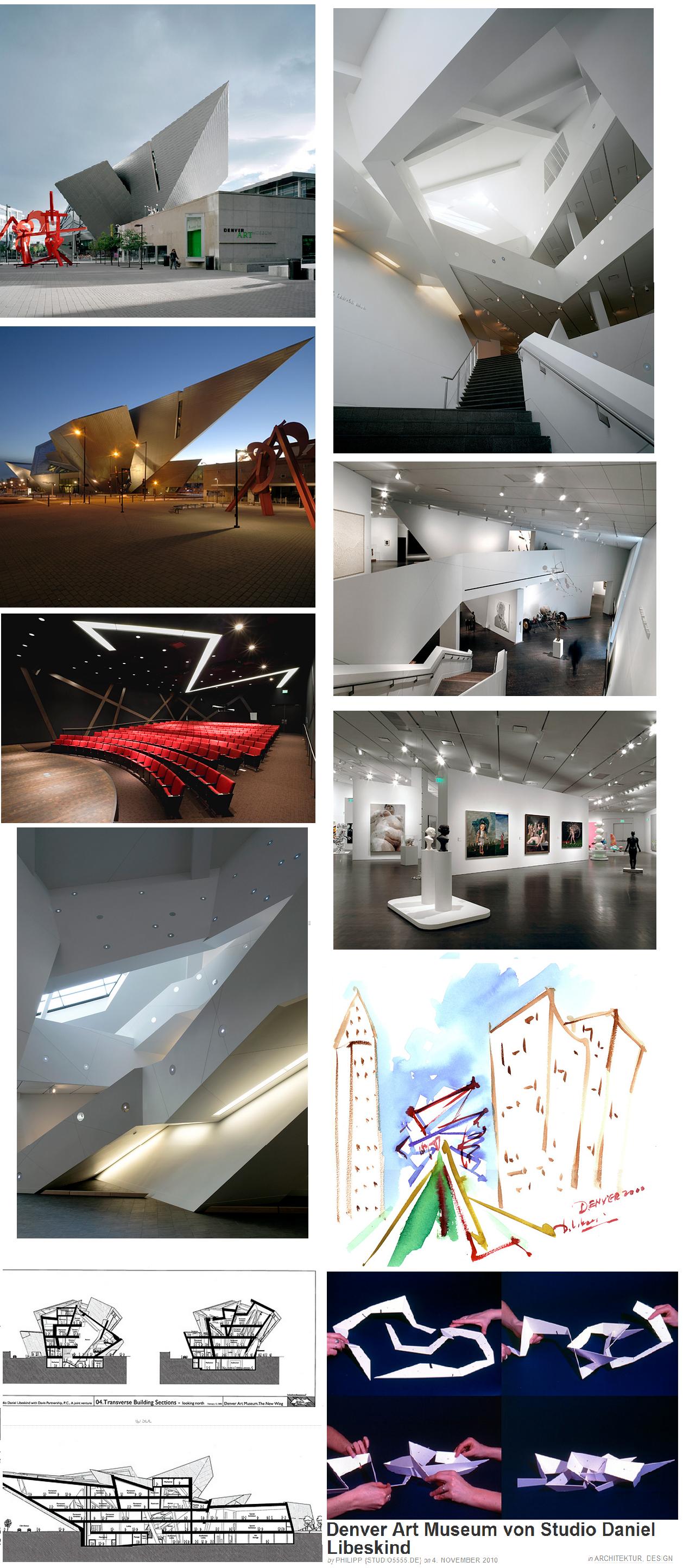 Daniel Lisbeskind. Denver Art Museum. | Architektur ...