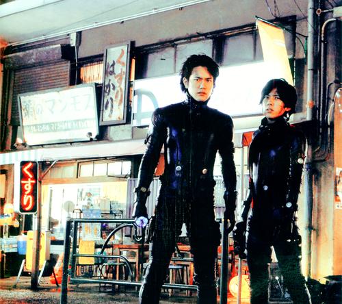 Gantz Yokai: Gantz And Gantz: Perfect Answer. Japanese Movies Based On