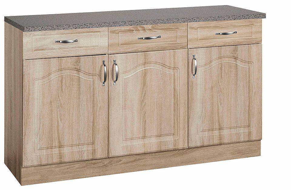 Wiho Küchen Unterschrank »Linz«, Breite 120 cm Jetzt bestellen - küchen unterschrank 100 cm