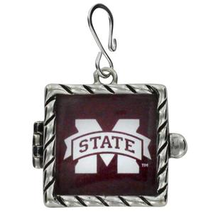 $5.50 Mississippi State University  Shadow Box Pendant
