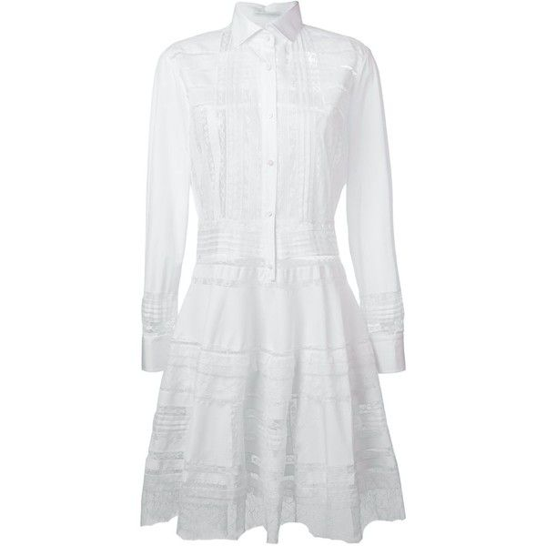 lace trim shirt dress - Pink & Purple Ermanno Scervino Sneakernews Cheap Price Clearance Classic Pay With Visa For Sale Marketable For Sale tZloT2kEvh
