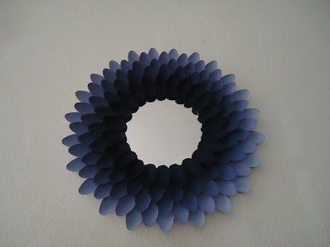 Como decorar un espejo reciclando pinterest espejo decora tu cuarto y cucharas de pl stico - Espejo de plastico ...