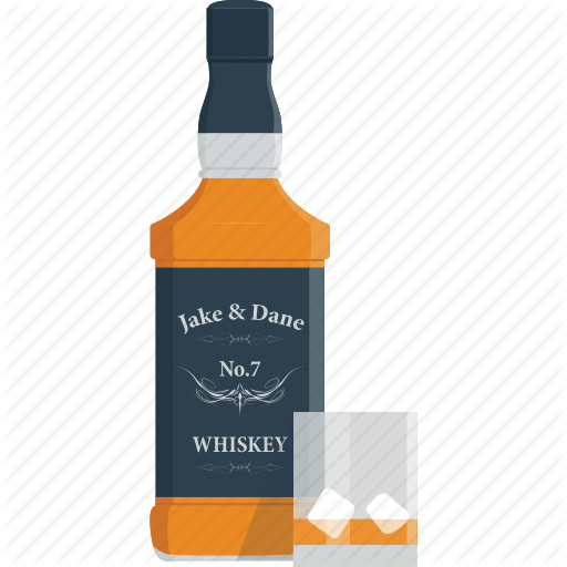 Food Drinks V3 By Flat Icons Wine Icon Bottle Whisky