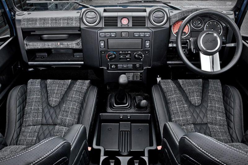Interior Land Rover Defender Custom Buscar Con Google Nothin 39 But Land Rover Defenders