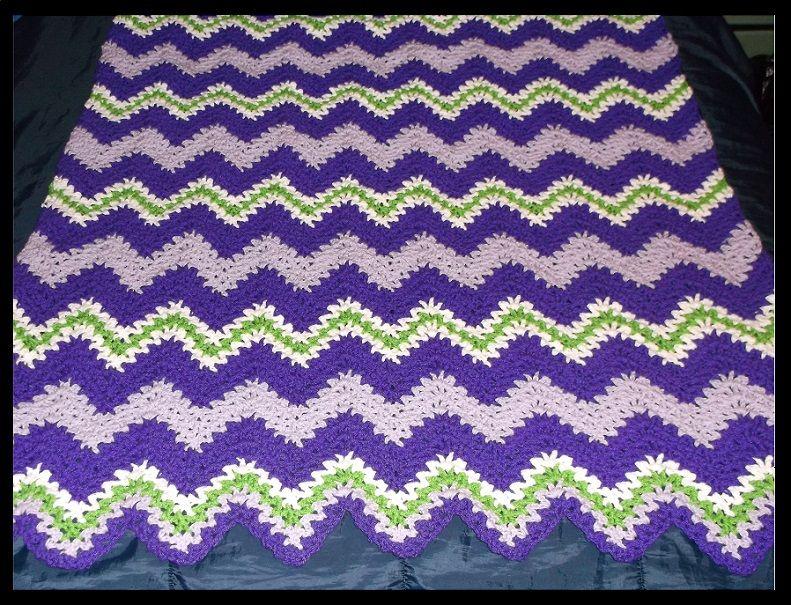 The Express V-Stitch Ripple Pattern
