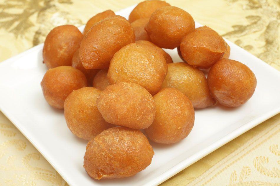 طريقة عمل اللقيمات العادية Recipe Syrian Food Arabic Sweets Middle Eastern Recipes
