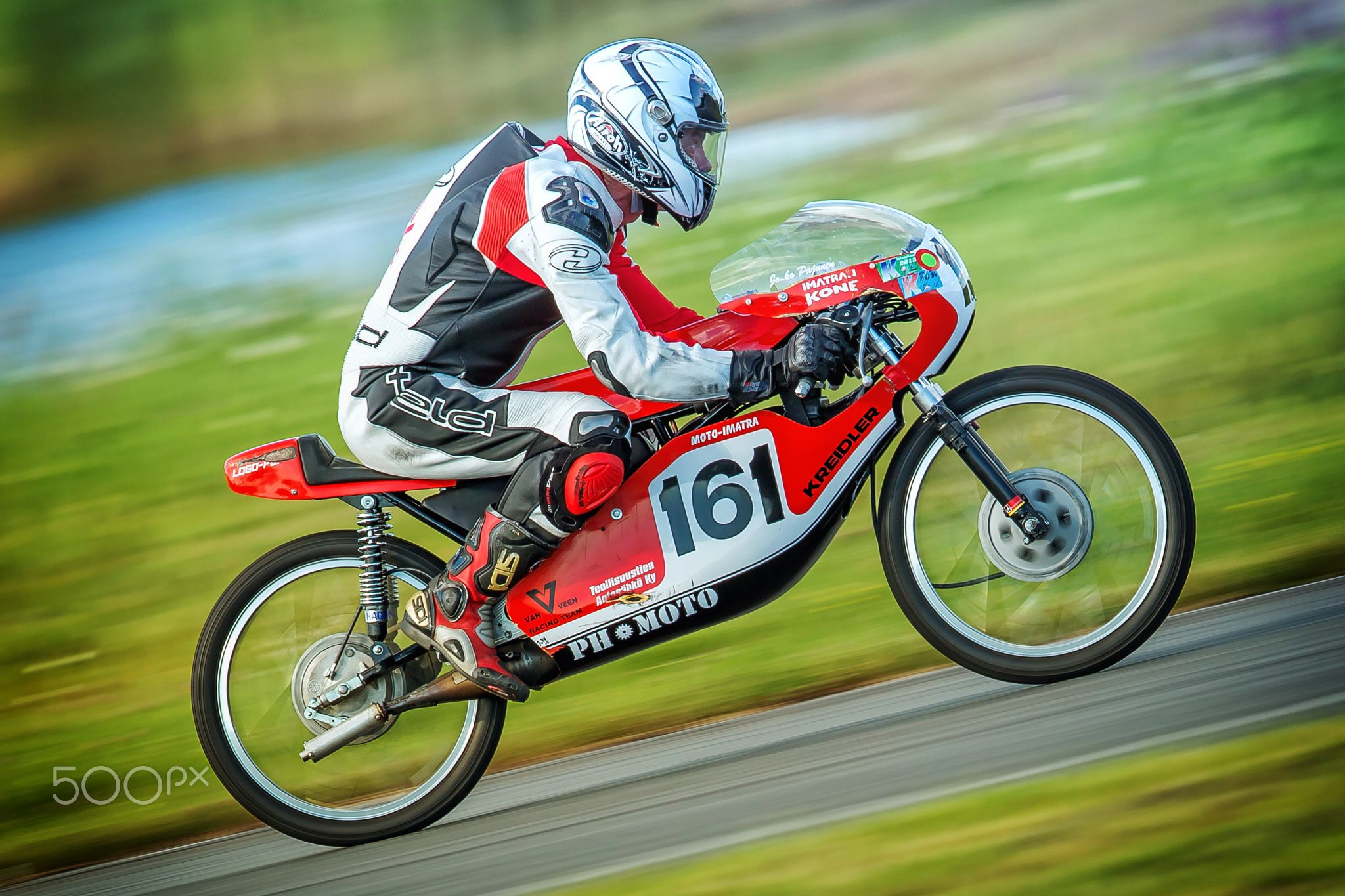Classic Moto Racing An Image From Classic Motorcycle Race