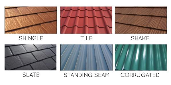 Metal Roofing Styles Metal Roof Metal Roof Colors Roof Colors