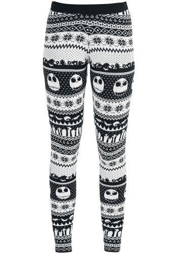 Fair Isle Knit Leggings - Leggings van The Nightmare Before ...