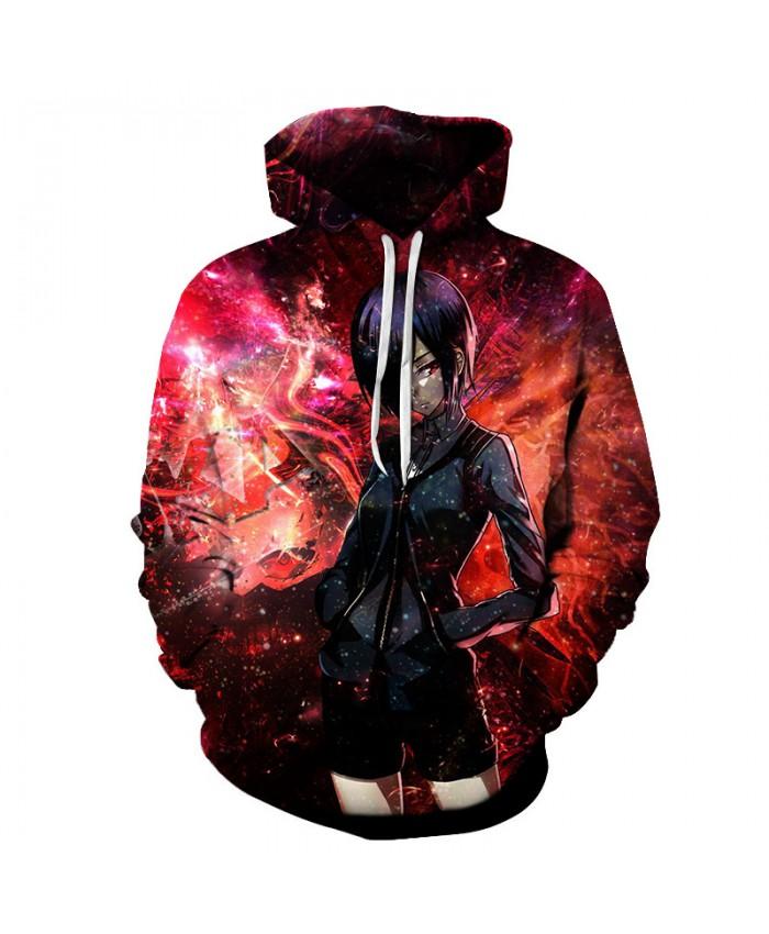 Tokyo Ghoul 3D Hoodies Unisex Sweatshirt Men Brand Hoodie