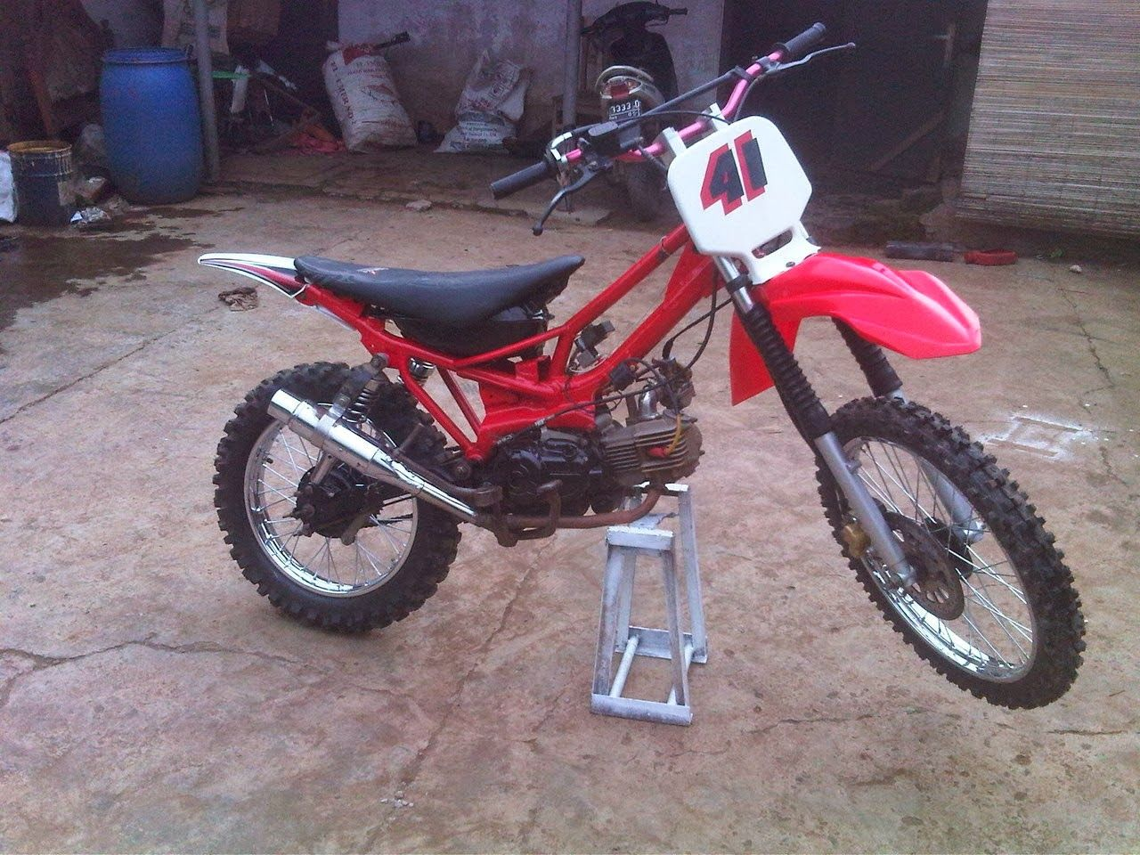Modifikasi Honda Karisma Jadi Trail Thecitycyclist Motor Bebek