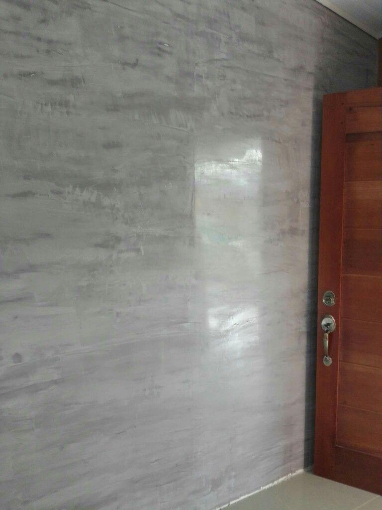 Stucco veneciano gris estuco pinterest venecianas - Pintura pared gris ...
