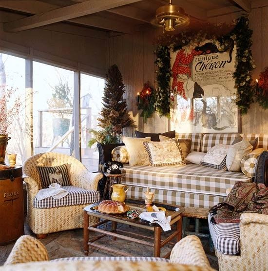 Christmas Porch FB site | French country decorating ...