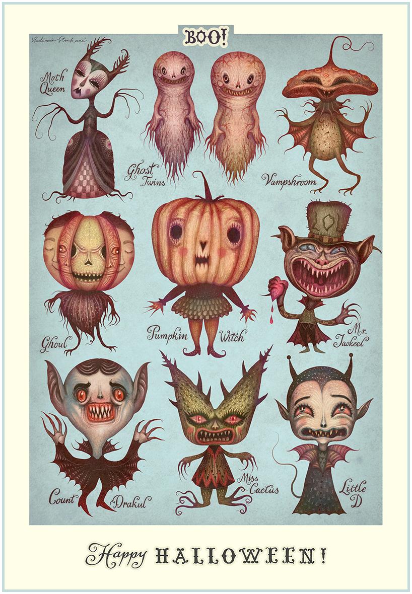 Happy Halloween! on Behance