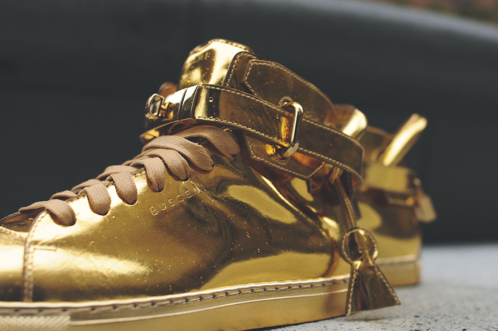 BUSCEMI 100MM METALLIC - GOLD   ROSE GOLD   KITH NYC  e657ea2061f8