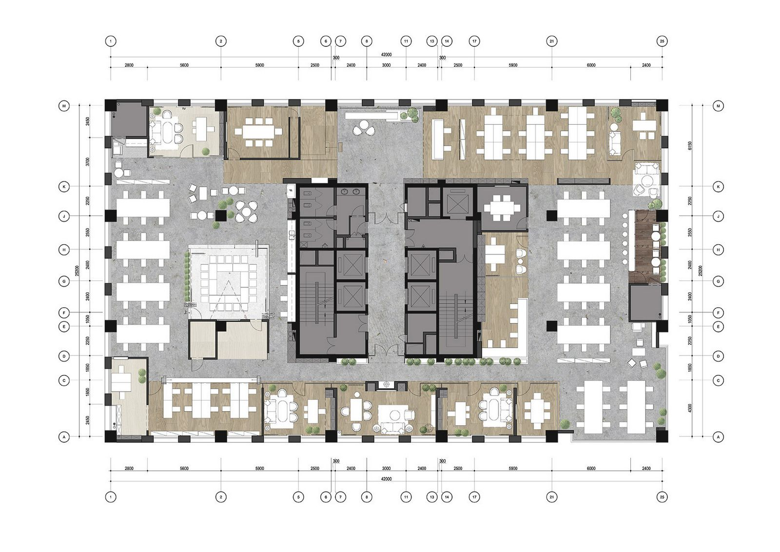 Qin Group Offices Chongqing Office Snapshots Office Building Plans Office Layout Office Floor Plan
