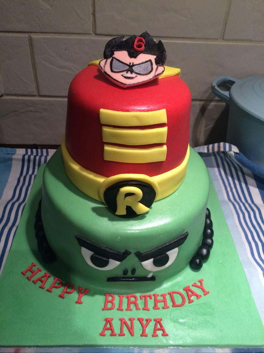 Teen Titan Cake Teen Titan Go Cakes Teen Titans Go