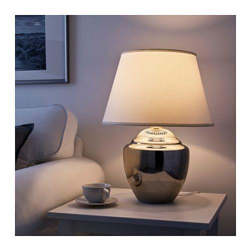 Rickarum Poytavalaisin Hopea 47 Cm Ikea Table Lamp Ikea At Home Furniture Store