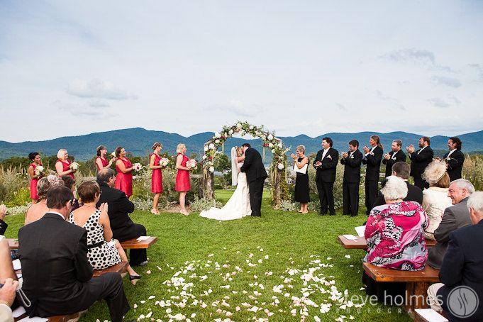 Ceremony Portrait The Mountain Top Inn Wedding Chittenden Vt Steve Holmes Photography