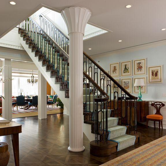 Interior Designs Stairs Location: Gary McBournie Inc