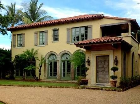 Image result for spanish stucco house