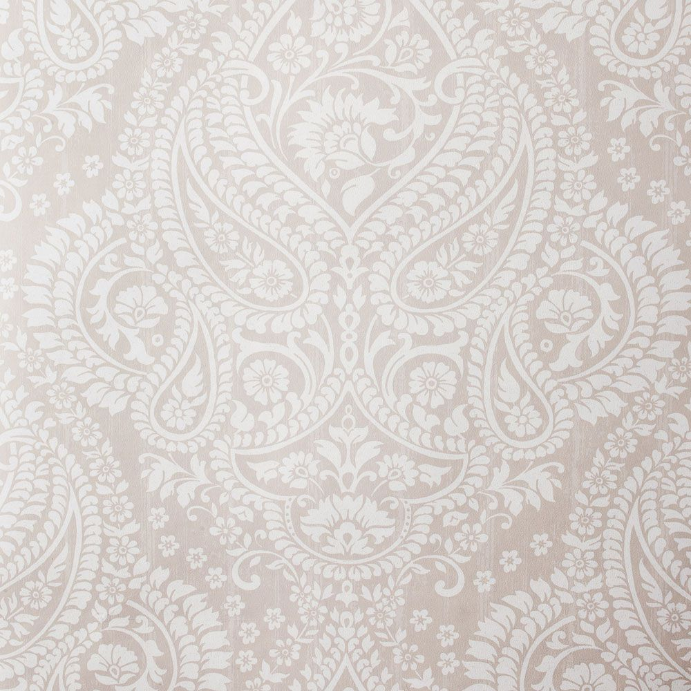 Damast Tapete Paisley Zara Home Osterreich Paisley Wallpaper Grey Accent Wall Grey Wallpaper Living Room