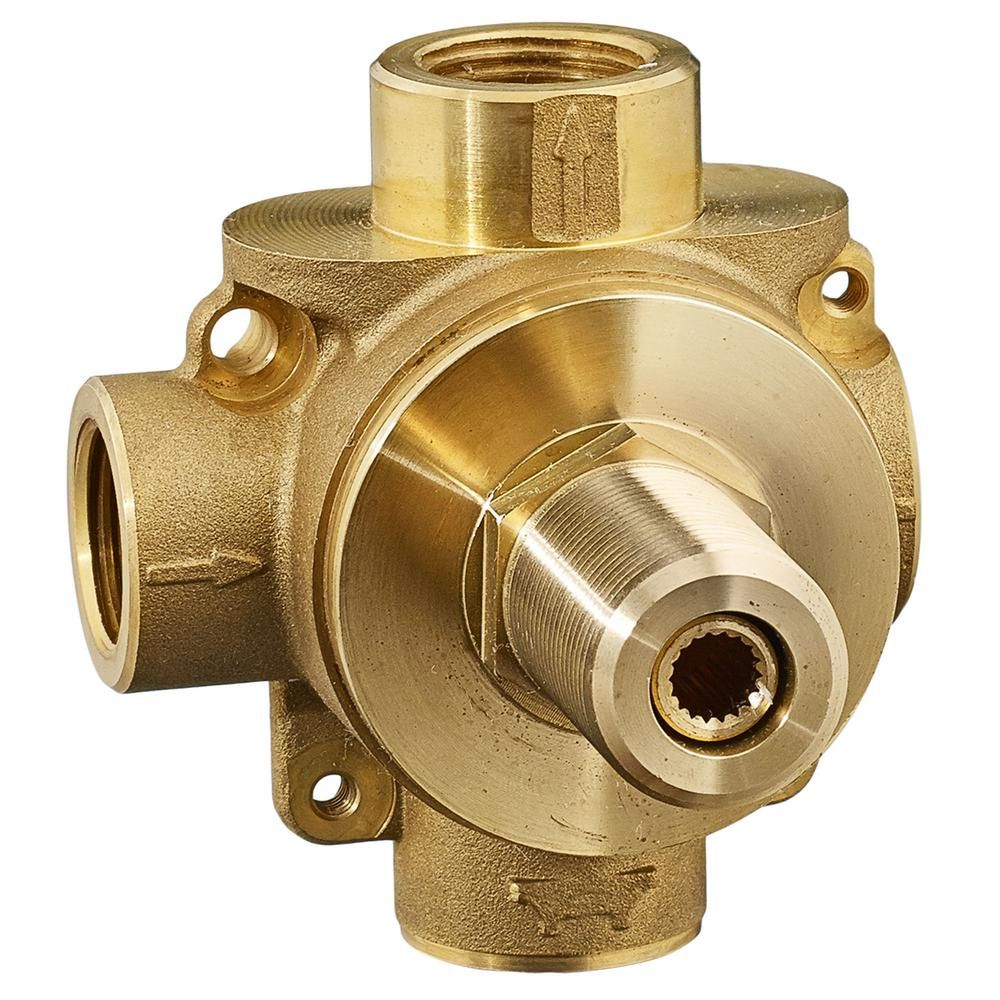 American Standard 1 2 In 2 Way In Wall Rough Diverter Valve