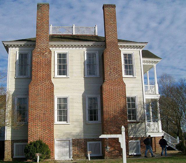 Abandoned North Carolina Homes: Hope Plantation In Windsor NC