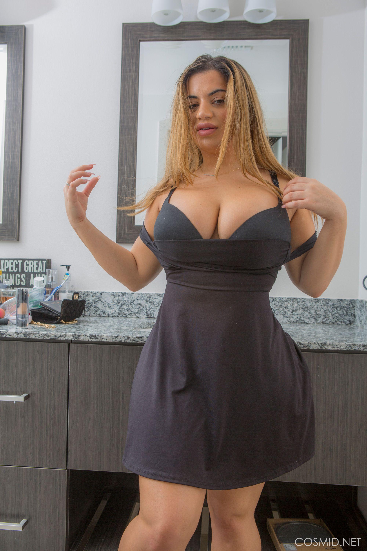 Lisa Martiz Meninas Vestidos Pretos Curtos Gordinhas