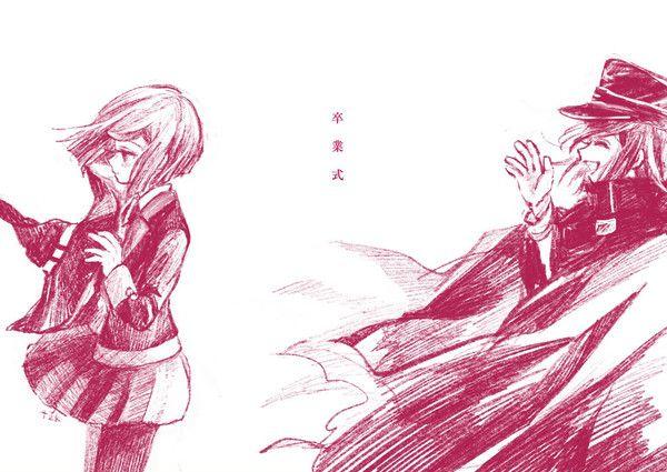 Himiko Kokichi Danganronpa, Anime, Pink blood