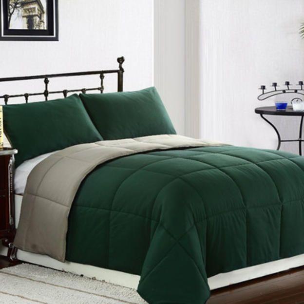 Eluxury Supply Reversible Comforter Set Size Twin Color