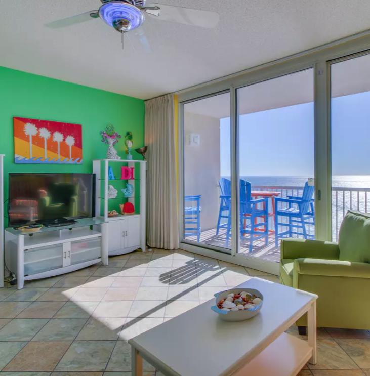 Panama City Beach Fl Vacation Rental Couples Retreat Tennis Courts Shared Pool And Hot Tub Incredible Oc Vacation Condos Beach Resorts Vacation Resorts