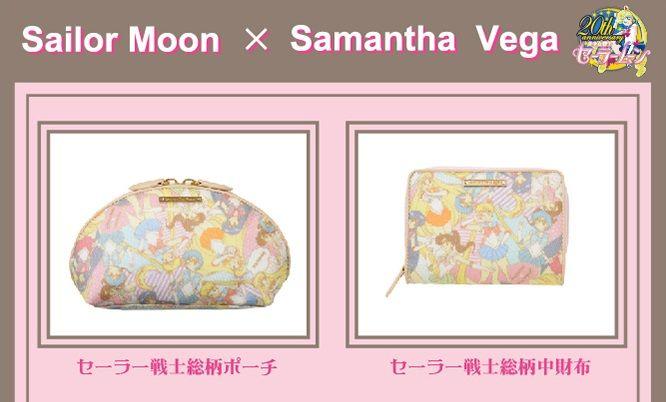 Sailor Moon X Samantha Vega