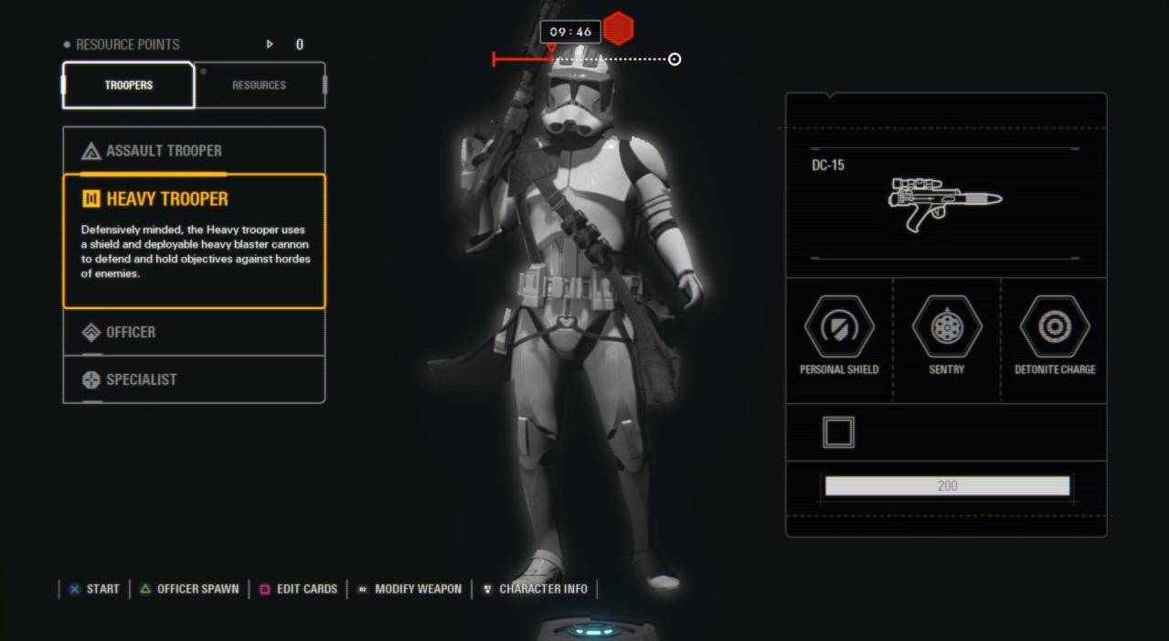 Potential Battlefront 2 Leak According To U Some Info An Early Version Of The Menu Interface Loadout Battlefront Star Wars Battlefront Game Interface