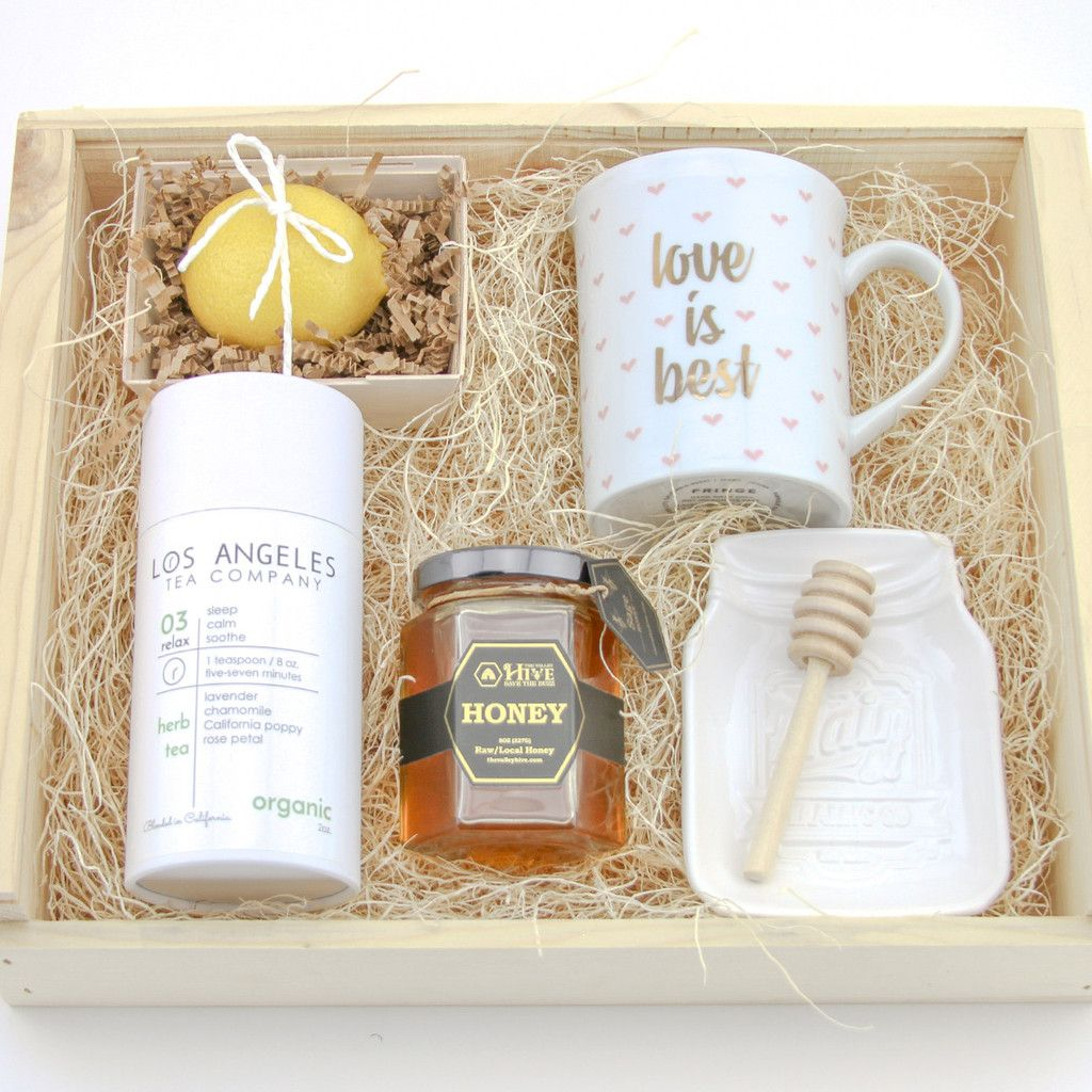 """""""Tea and Honey"""" Gift Bag Lab Honey gifts, Tea, Gifts"""