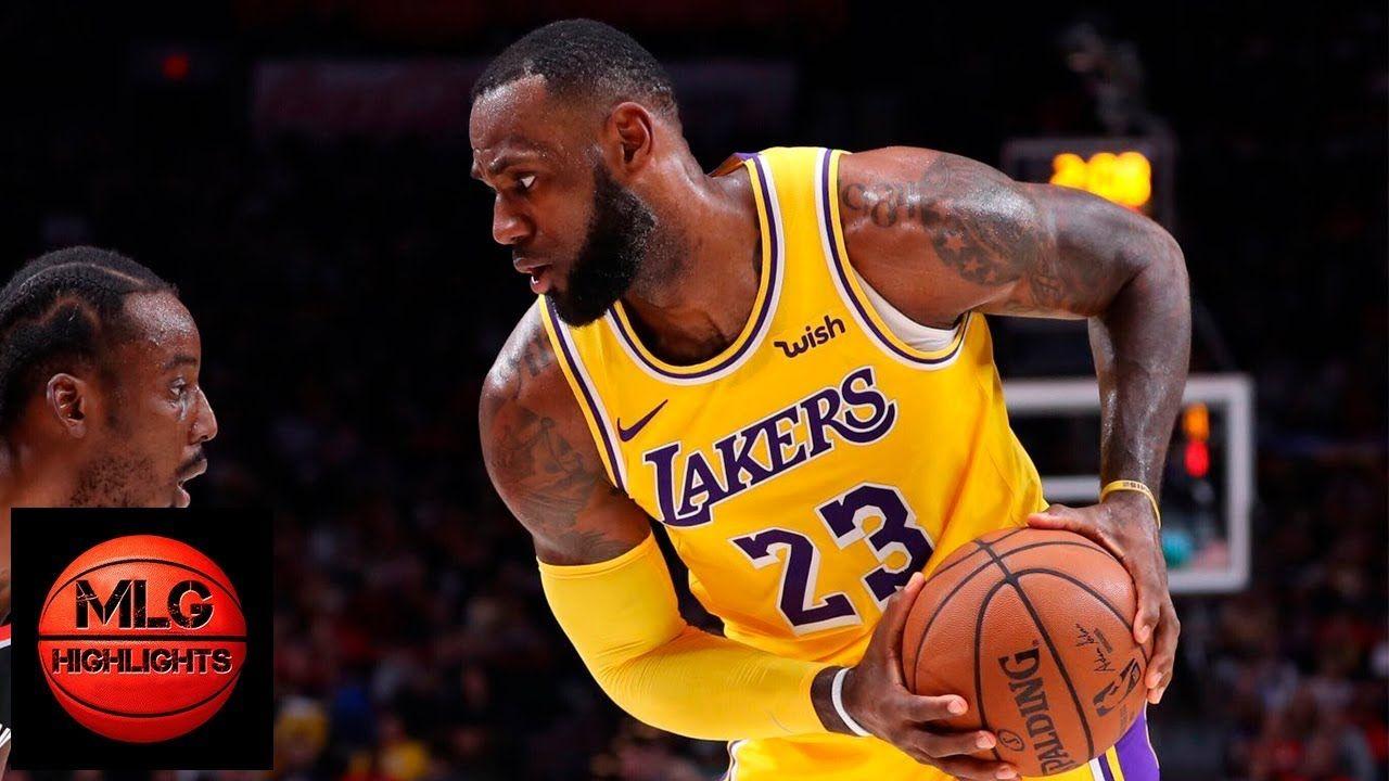Los Angeles Lakers Vs Portland Trail Blazers Full Game Highlights 11 0 Lakers Vs Portland Trailblazers Los Angeles Lakers