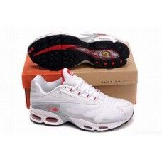 new style 1c685 4d424 Hommes Nike Air Max TN BlancNoirRouge