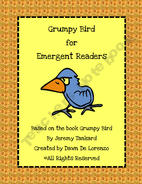 FREE Grumpy Bird emergent reader :)  We love this book!